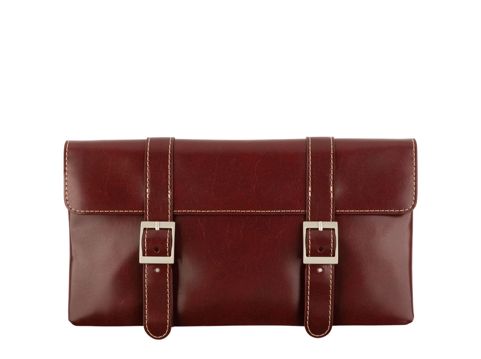 Clutches Burgundy Red