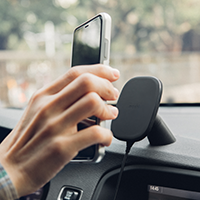 Moshi's Launches SnapTo™ Magnetic Car Mount with Wireless Charging for iPhone