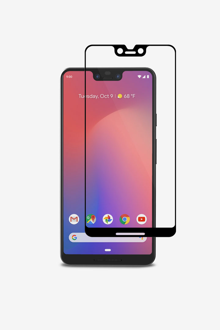 secondIonGlass for Pixel 3 XL#Black (Clear/Glossy)