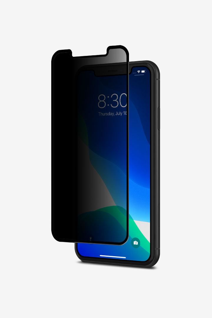 IonGlass Privacy for iPhone 11/XR#黑 (透明/亮面清透)