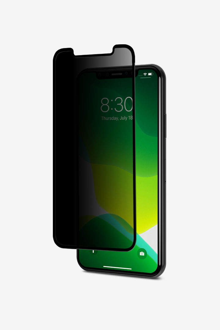IonGlass Privacy for iPhone 11 Pro/XS/X#黑 (透明/亮面清透)