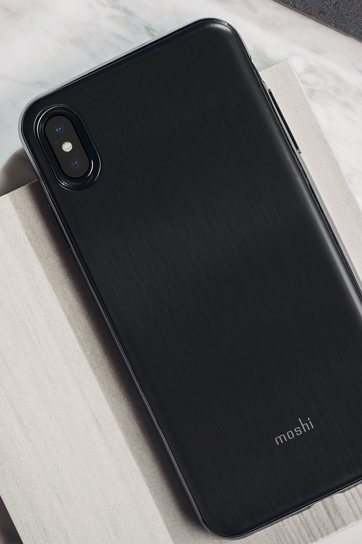 iGlaze for iPhone XS Max#Armour Black