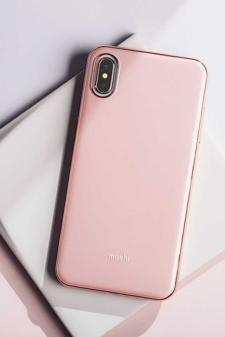 iGlaze for iPhone XS Max#Taupe Pink
