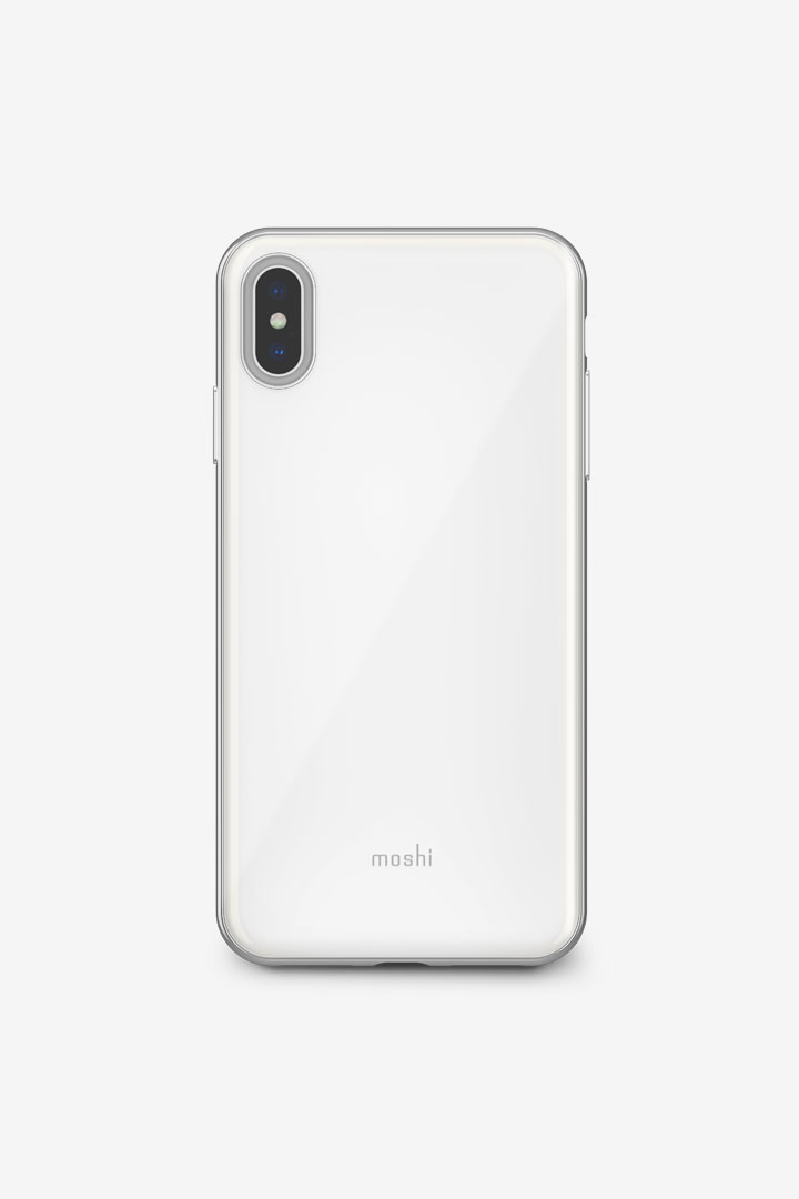 iGlaze for iPhone XS Max#Pearl White