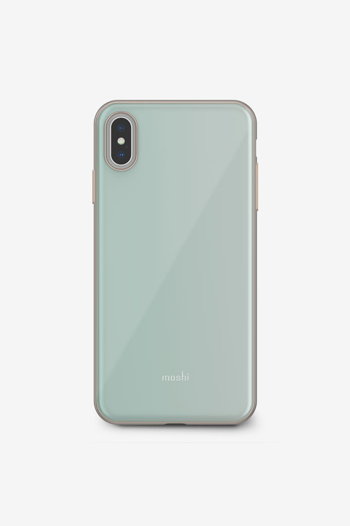 iGlaze for iPhone XS Max#Powder Blue