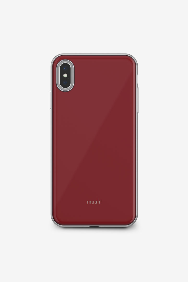 iGlaze for iPhone XS Max#Merlot Red