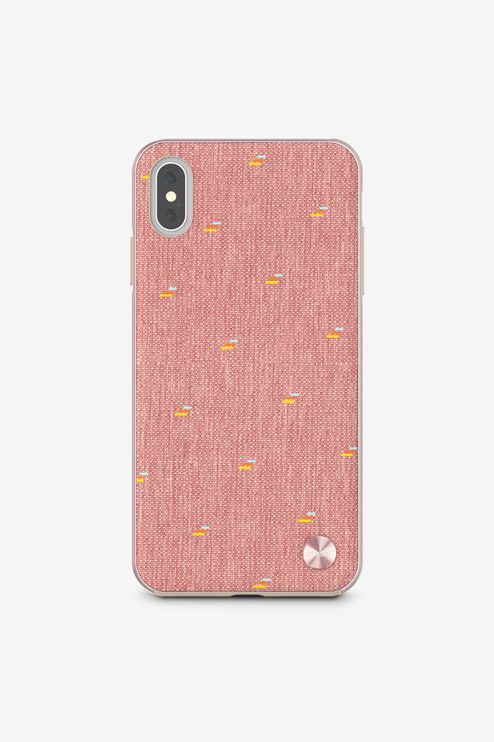 Vesta for iPhone XS Max#Macaron Pink