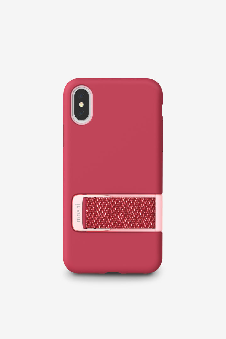 firstCapto for iPhone XS/X#Raspberry Pink