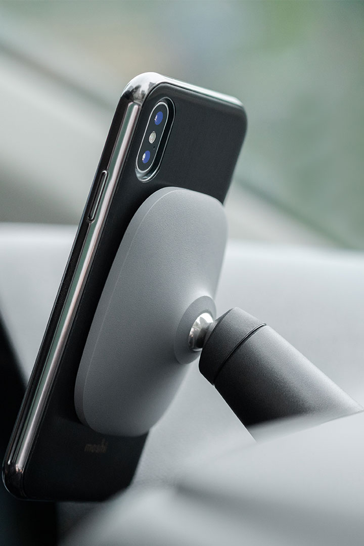 SnapTo™ Car Mount#Gray