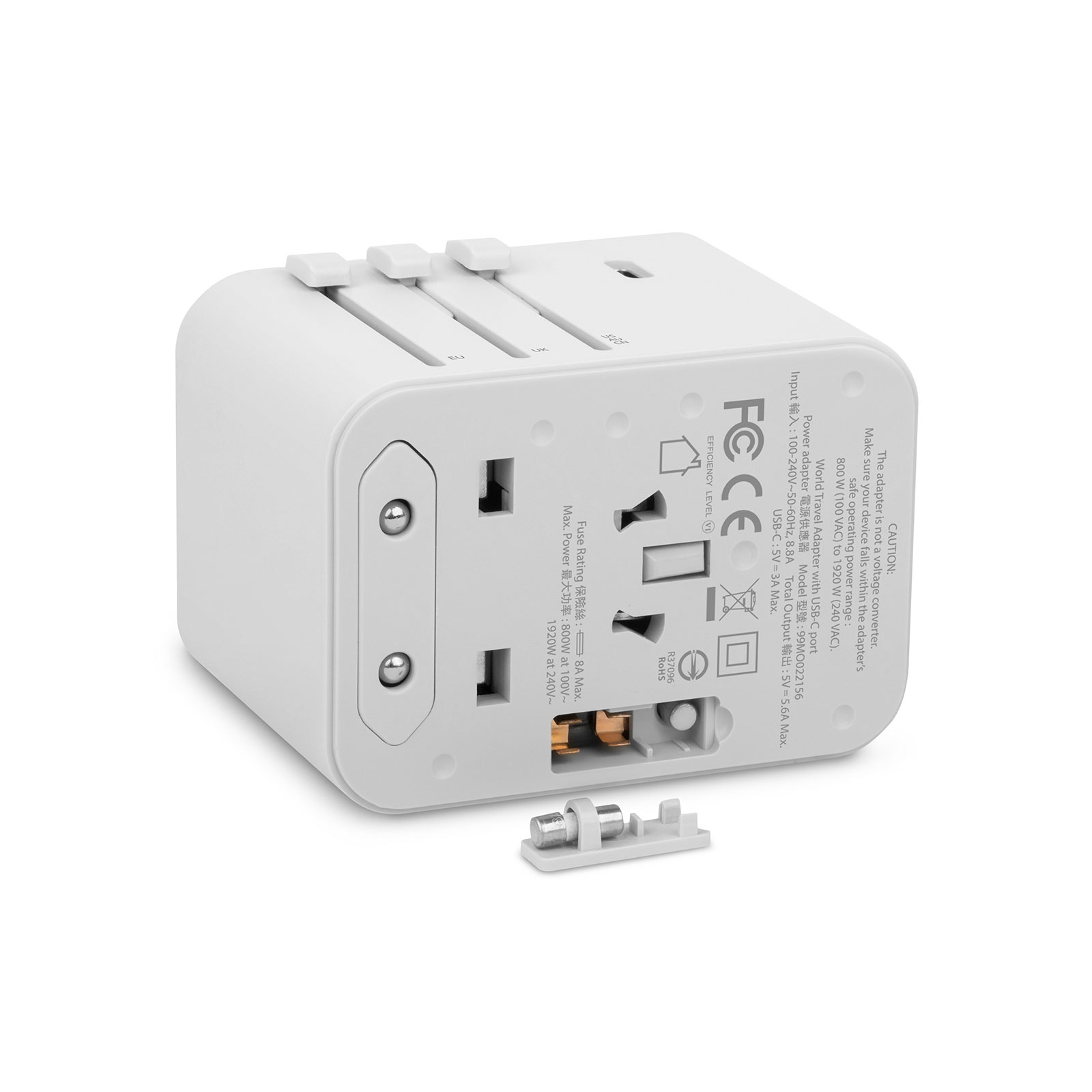 World Travel Adapter with USB-C and USB-A Ports-3-thumbnail