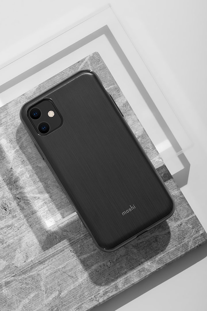 iGlaze for iPhone 11 (SnapTo™)#Armour Black