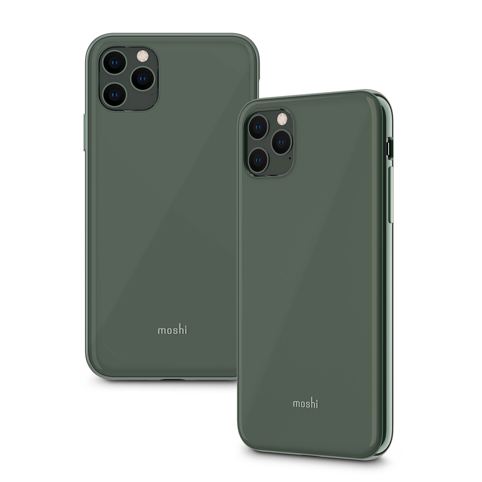 Iphone 11 Pro Max Case Shop Iphone Protection Midnight Green Iglaze By Moshi