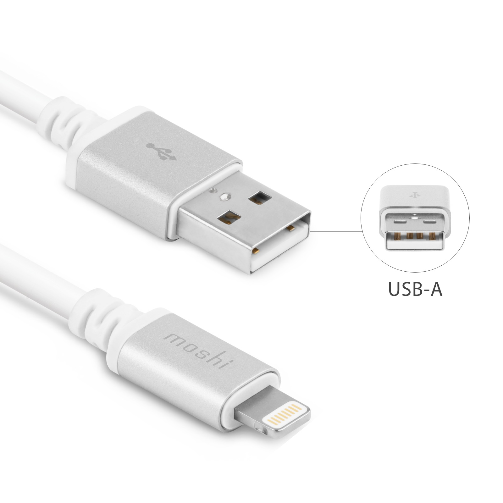 10 Foot Usb Cable With Lightning Connector 3 M White