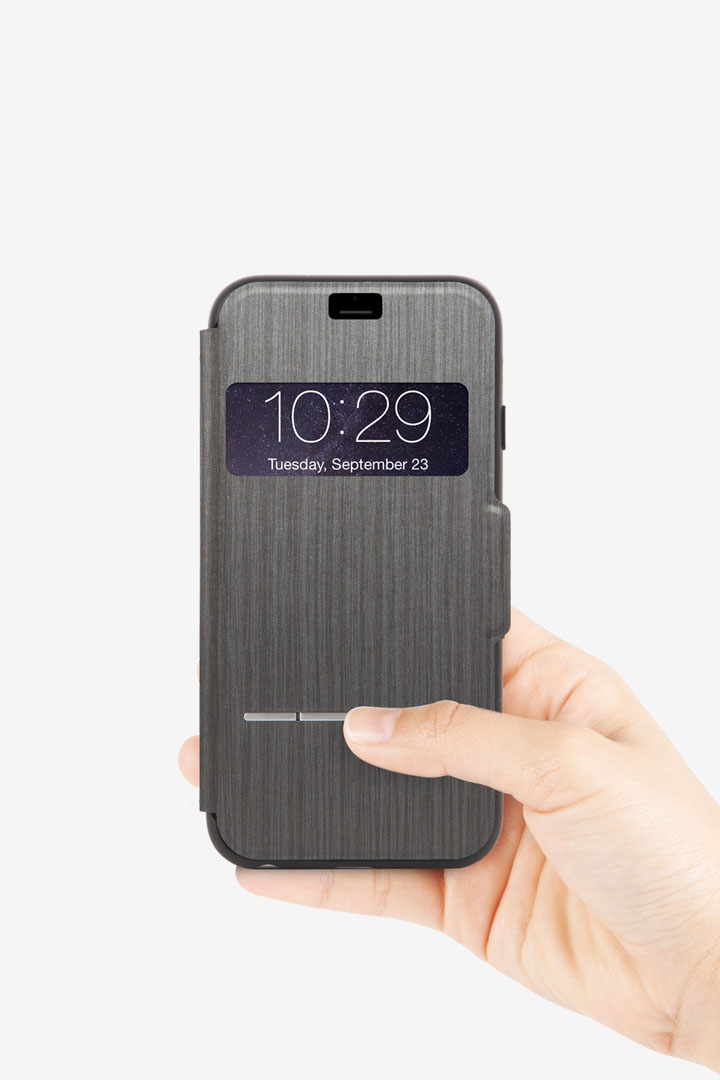 SenseCover for iPhone 6/6s#Steel Black