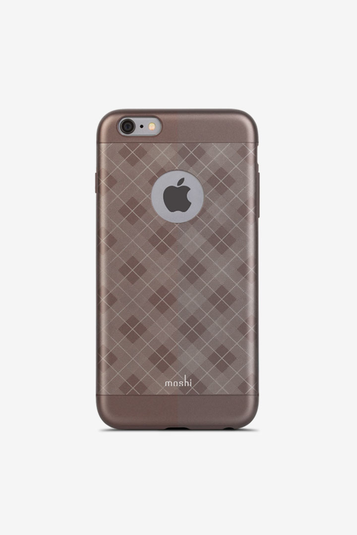 iGlaze for iPhone 6 Plus/6s Plus#Tartan Walnut