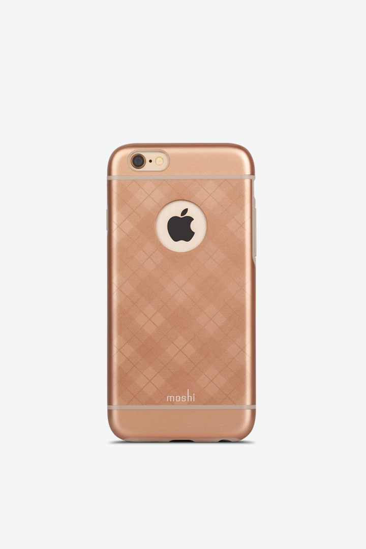 iGlaze for iPhone 6/6s#Tartan Rose
