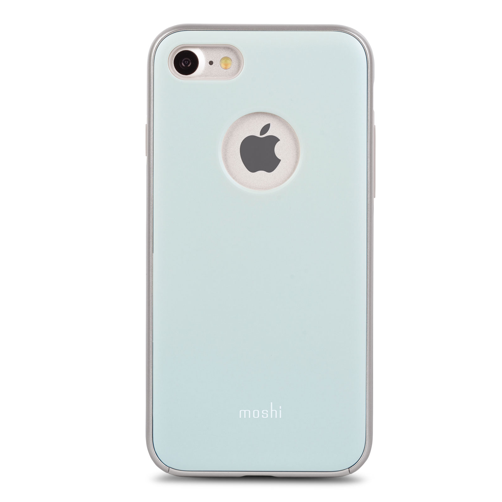 iphone 8 7 case shop iphone covers blue iglaze by moshi. Black Bedroom Furniture Sets. Home Design Ideas