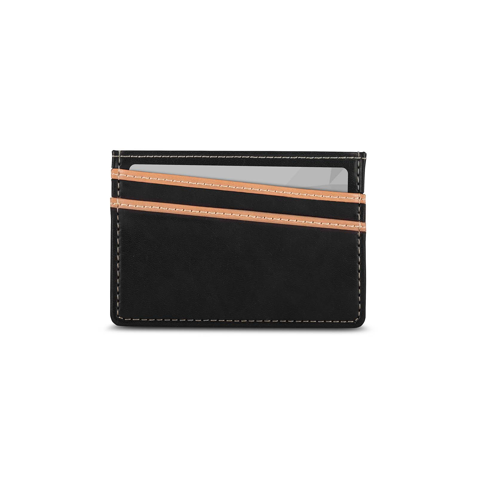 Lightweight Vegan Leather Slim Wallet-3-thumbnail