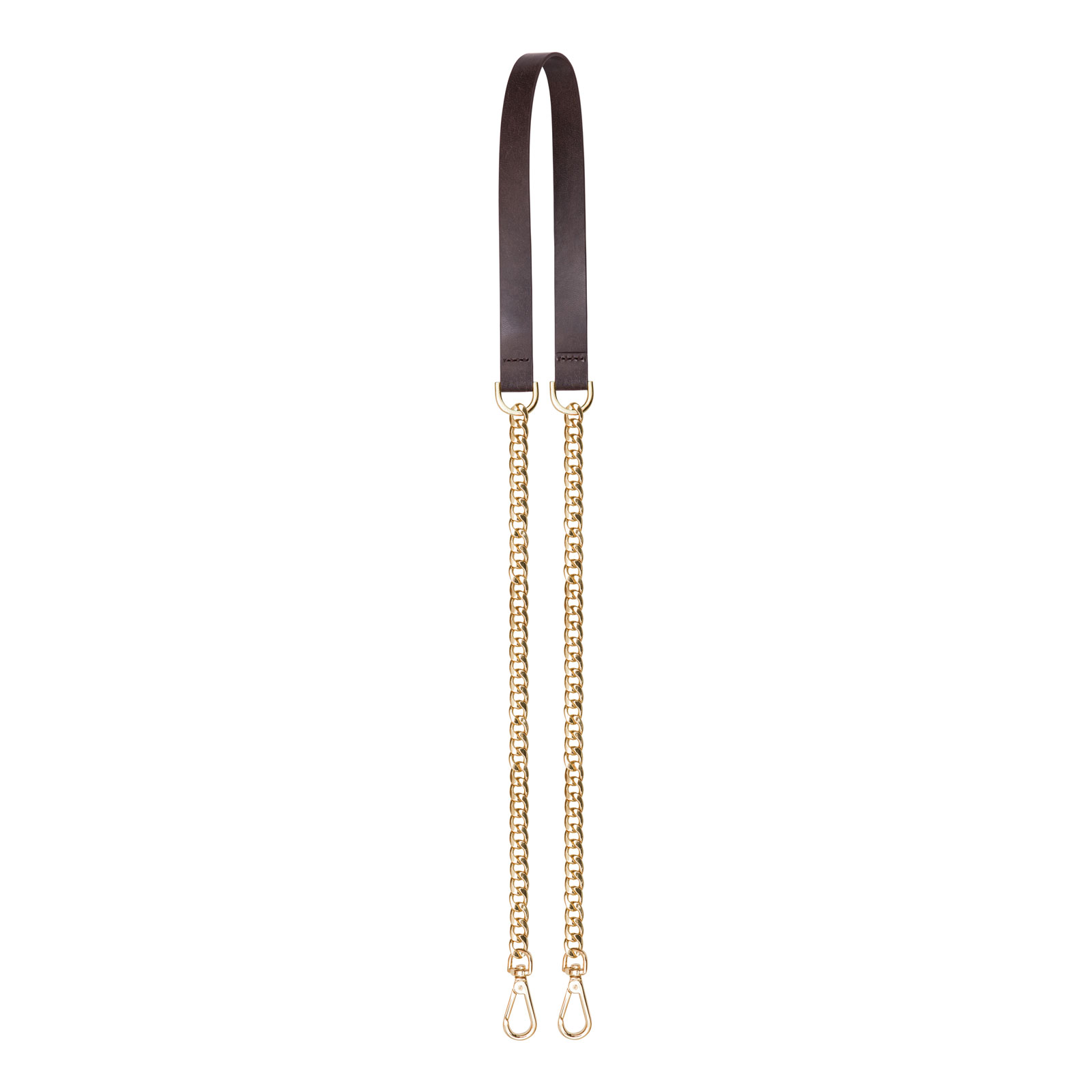 Vegan Leather Chain Strap-image