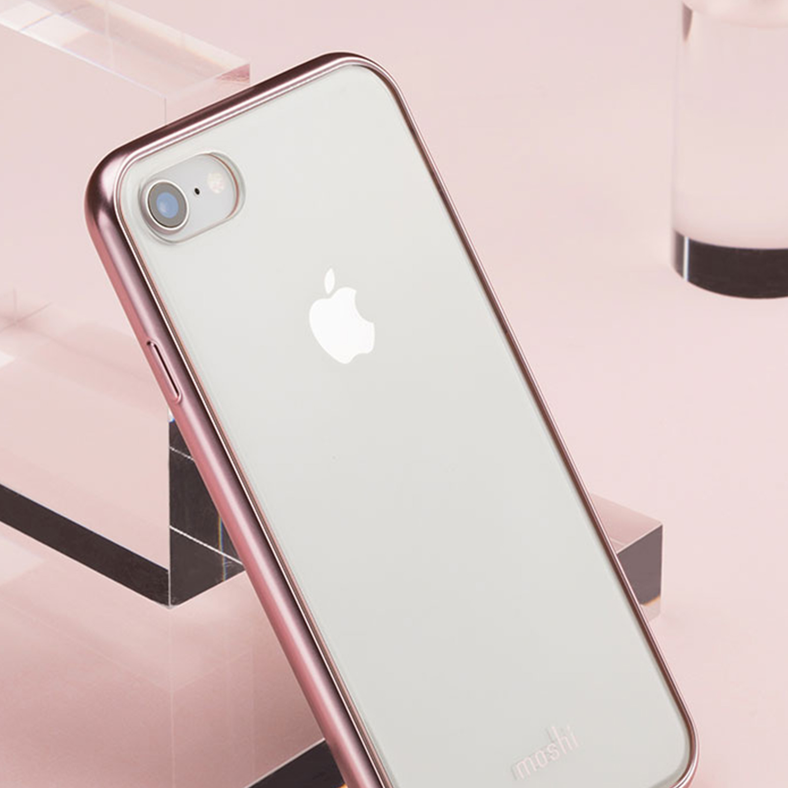 1ff21c69b5 iPhone 8 Plus/7 Plus Clear Case - Shop Clear Cases | Pink Vitros by ...